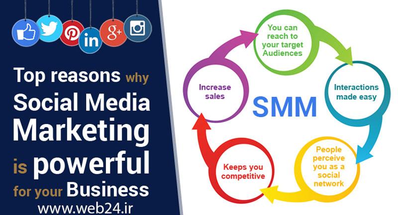 مزیت های بازاریابی در شبکه های اجتماعی