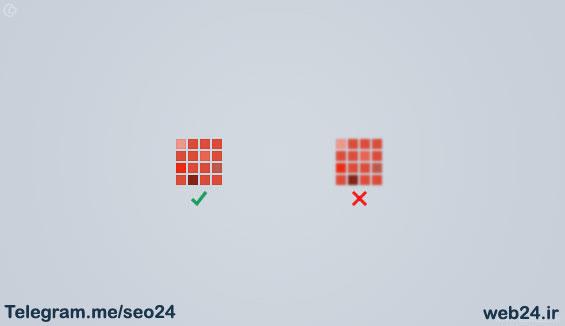استفاده از رزولوشن مناسب در طراحی سایت