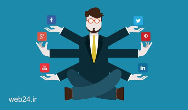 مدیر اصیل شبکه اجتماعی - بازاریابی اینترنتی